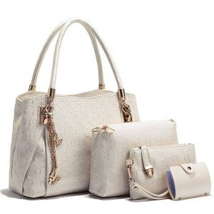 Lacira Women's Combo Of Shoulder Bag, Satchel, Card Holder And Handbag