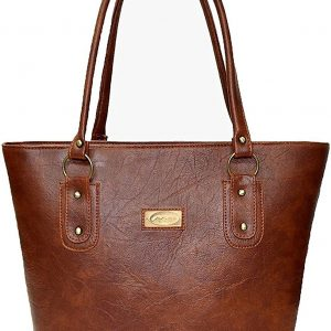 Mammon Women's Handbag Pu Leather Tan
