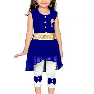 ADIVA Girl's Party Wear Dress