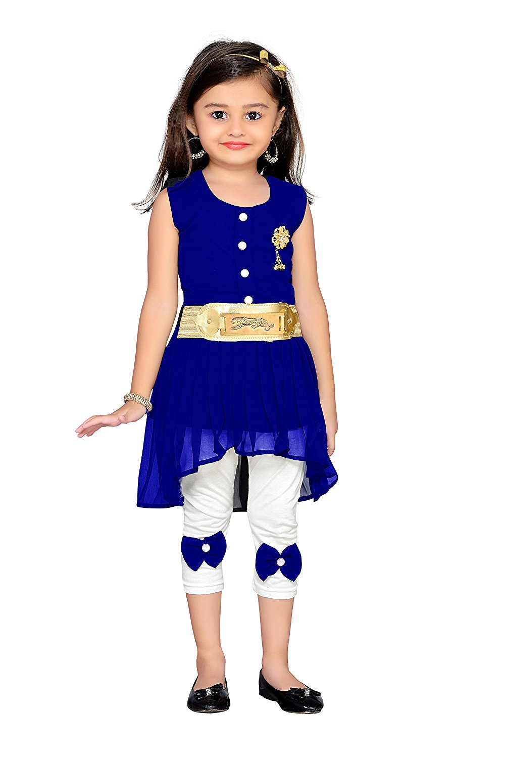 e814daf711 ADIVA Girl's Party Wear Dress - CartNext.in