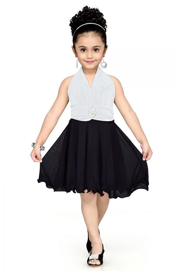 Aarika Girl's Layered Party Wear Frock