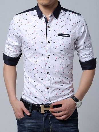 Buy Mens Black & White Casual Shirts Online at Low Price from Cartnext