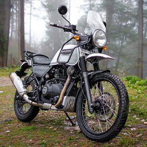 Royal Enfield Himalayan Tour bike for Ladakh