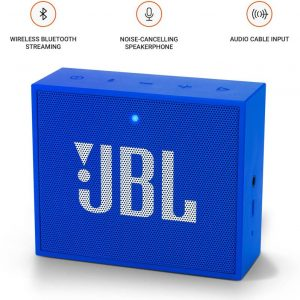 JBL Go PLUS Portable Bluetooth Speaker (Blue, Mono Channel)