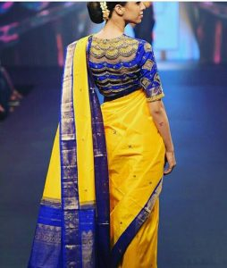 Mindblowing Silk Saree With Designer Blouse Trendy Ideas