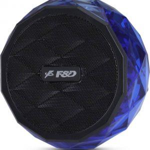 F&D W-3 Bluetooth Speaker (Blue & Black, Mono Channel)