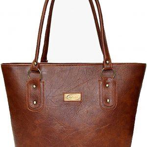 Mammon Women's Handbag Pu Leather Tan