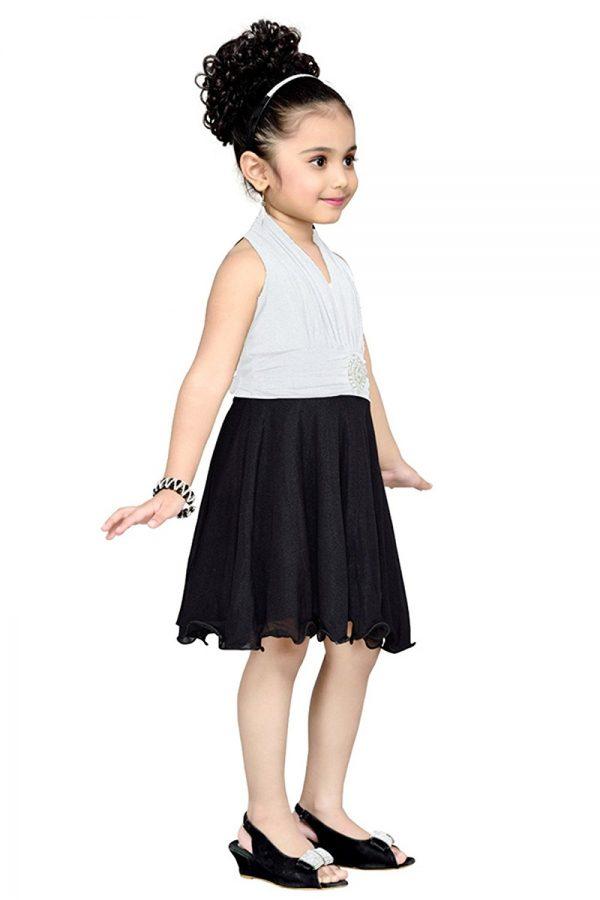 Aarika Girl's Layered Party Wear Frock
