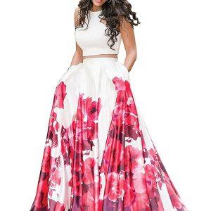 Nena Fashion Women's Silk Lehenga Choli (Red,Free Size, Semi-Stitched)