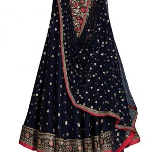 Lehenga Choli (styleelitee Women's Heavy Embroidered Tafeta Silk lehnga/Lehenga Choli/Lehenga Choli For Women)
