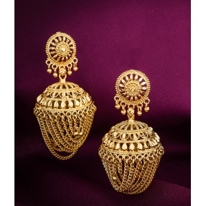 Traditional Jhumka aka Jimmiki earrings